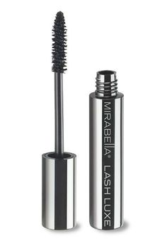 Toss your annoying falsies out the window. Mirabella's new mascara helps fortify the lash fibers, which creates longer, thicker eyelashes — no glue necessary.Mirabella Lash Luxe Mascara, $26, at Mirabella. #refinery29 http://www.refinery29.com/new-drugstore-beauty-products-2015#slide-3