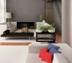 Diseño de Interiores - Salas #DiseñaTuVida