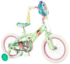 Special Offers - Dora Bicycle (16-Inch Mint/Pink) - In stock & Free Shipping. You can save more money! Check It (June 03 2016 at 03:49PM) >> http://bmxbikeusa.net/dora-bicycle-16-inch-mintpink/