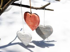 Wooden Heart Personalized Wooden Heart by BartLOVEskydesign