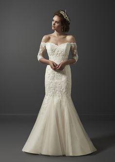 Beaujolais #bride #bridetobe #weddingdress #dreamdress #wedding #bridal #fitandflare #lacedress #oliviagracebridal