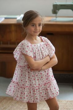 This feels so wrong mom! Baby Girl Fashion, Toddler Fashion, Kids Fashion, Little Girl Dresses, Girls Dresses, Little Girl Models, Frocks For Girls, Baby Couture, Inspiration Mode