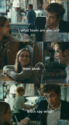 Team Edward is always the right choice.
