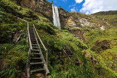 Amazing Road to Gocta Waterfall in Amazonas Perú [OC] [5760  3840]