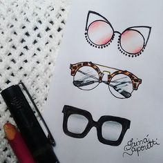 ❤ #draw #drawing #fashion #love #inlove #fashionillustration #illustration #sunglasses #fashiondesign #designdemoda #moda #oculos #art #arte #croqui #handmade #lookdodia #lookoftheday #fashion4arts
