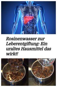 Die Herstellung von Rosinenwasser ist sehr einfach und vorallem sehr billig…