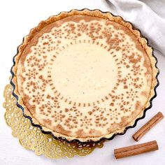 This 15-minute milk tart will soon become a family favourite!