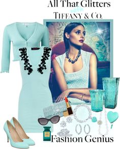 """""""All That Glitter ~ Tiffany & Co"""" by mzdiamondgirl ❤ liked on Polyvore"""