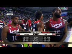 2014 FIBA Basketball World Cup (Sports League Championship Event),united states national basketball team,Slovenia National Basketball Team (Basketball Team), FIBA Basketball World Cup (Sports League Championship),USA vs Slovenia 2014 FIBA