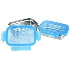 Lunchbots clicks lekvrije broodtrommels zijn ideaal voor eters van 'natte' lunches zoals groente salades of het meenemen van fruit salade. De silicone ring zorgt ervoor dat de lunchboxes lekvrij zijn. Zowel de roestvrijstalen lunchbox als deksel kunnen in de vaatwasser. De Luchbots zijn er in verschillende maten per stuk en per set: Set Small: Lunchbox …
