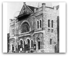 """Opened in 1891 at the corners of North Broad and Berks streets, the Baptist Temple was one of the largest Protestant churches in the United States and the dream of Temple University founder and Baptist minister Russell Conwell. It has long been a Philadelphia landmark and serves as a historic cornerstone of Temple's North Philadelphia campus.""""    It's function as a religious meeting place ended when its space was converted for use by the faculty and students of Temple University."""