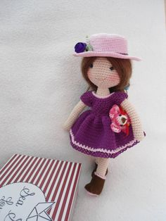 Doll crochet-Fine doll crochet by suwannacraftshop on Etsy