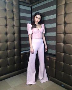 Modern Filipiniana Dress, Barong, Grad Pics, Jumpsuit, Kathryn Bernardo, Ootds, Pants, Filipino, Collection
