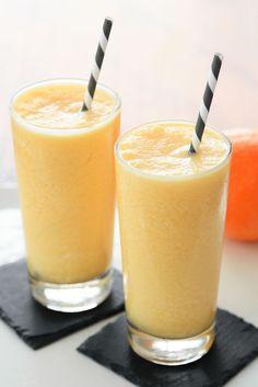 Orange Frothy: A copy-cat Orange Julius recipe - Snixy Kitchen