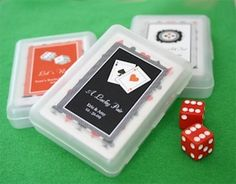 Lucky Pair Vegas Themed Playing Card Favors from Wedding Favors Unlimited Vegas Wedding Favors, Vegas Themed Wedding, Wedding Shower Gifts, Wedding Favors Cheap, Las Vegas Weddings, Baby Shower Gifts, Bridal Shower, Wedding Ideas, Wedding Stuff
