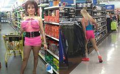 Was ist denn bei denen schief gelaufen? Ich glaube bei der Frau links mit dem knappen, merkwürdigen, pinken Outfit auf jeden Fall vieles. Für den Mann rechts fehlen mir sowieso schon lange die Worte. Zwei ganz schlimme (aber witzige) Fashion-Fails. | unfassbar.es