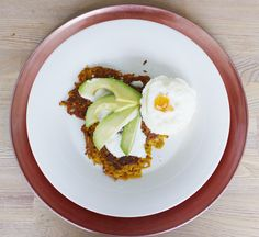 Zoete Aardappel Rösti - Hungry For Healthy Food Healthy Food, Healthy Recipes, Avocado Toast, Breakfast, Egg As Food, Healthy Foods, Morning Coffee, Healthy Eating Facts, Healthy Eating Recipes