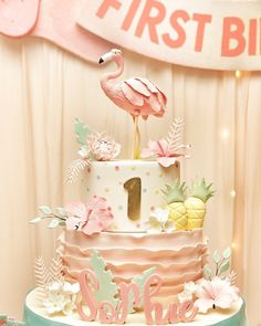 Fantastic party ideas at Party Ideas Daily! 269 Likes 3 Comments - Dream Flavours Celebrations (@dreamflavours) on Instagram: Flamingle to Sophie #flamingo #flamingoparty