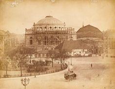 Beskrivelse Det Kongelige Teater; ca 1874