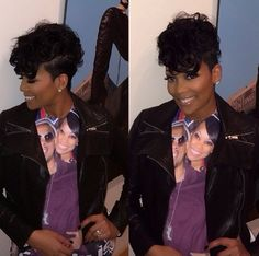 Monica Luv her style!!