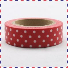 Washi Tape White dots on red 1 roll of adhesive paper tape 10m x 1.5 cm somi http://www.amazon.co.uk/dp/B0115TPVJO/ref=cm_sw_r_pi_dp_9DPOwb01HZAM4