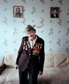 These women are veterans of the Second World War in Belarus. They are almost 90. The war started for them in 1941 when they were 16-18. They were born in all parts of the Soviet Union. As a result of the fall of the Soviet Union they are all Belarussians now