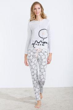 women'secret | compra por precio | ÚLTIMAS TALLAS! | Pijama largo de Pusheen