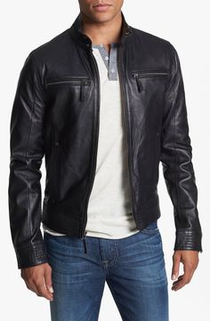 1981baa6379 7 Diamonds  Sprint  Leather Jacket