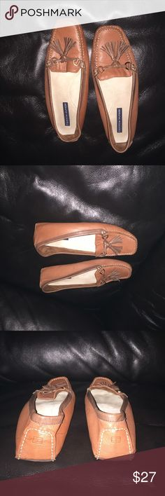 Tommy Hilfiger shoes. So comfortable. Great condition. Only signs of wear on the bottom. Tommy Hilfiger Shoes