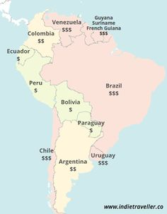 Backpacking In South America: Cost Of Travel Overview (2015) - IndieTraveller
