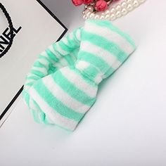 Generic Fashion Sweet Girl Hair Bands with Bows 3/pack (Green stripes) Generic http://www.amazon.com/dp/B019PPI9JE/ref=cm_sw_r_pi_dp_RPHJwb1ZQ6ZJH