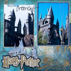 Harry Potter - Hogwarts, Universal Studios, Florida - RIGHT SIDE - Scrapbook.com