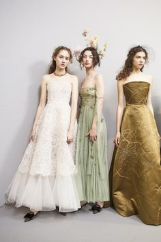 Backstage at Christian Dior Couture - Beautiful Backstage Couture Photos From Paris - Photos