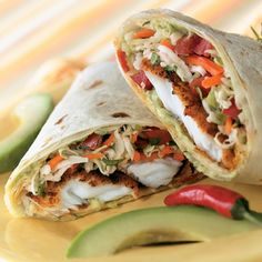 Spicy Tilapia Burritos - The Pampered Chef®