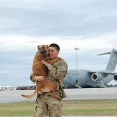 Is there anything better than Soldiers and dogs? (Other than Soldiers and babies??)
