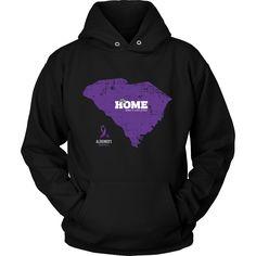 South Carolina - Alzheimer's Support Hoodie