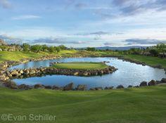 "17th Hole, The Stadium Course at PGA WEST...aka  ""Alcatraz""  West coast version of 17th at TPC Sawgrass"