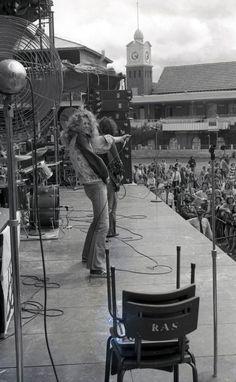 Robert Plant, Led Zeppelin – Sydney, 1972