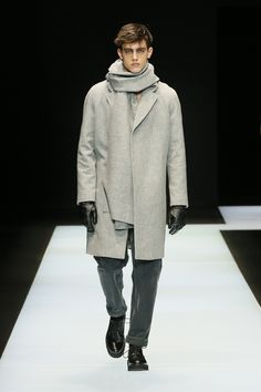 Look from the Emporio Armani Men's Fall Winter 2016 / 2017 fashion show