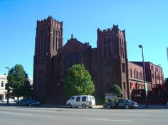 Another big Church in Huntington WV - Johnson Memorial Methodist Church