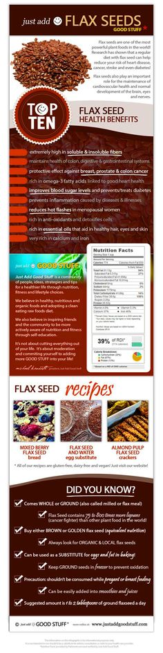 Health benefits of flax seeds :) http://www.spabreak.co.uk/