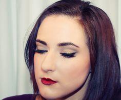 Christmas Gold liner. Kimmy Cattin Makeup. Mac Mac cosmetics kimmy_mua