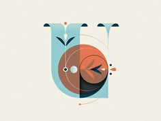 36 Days of Type - U by Nick Matej #Design Popular #Dribbble #shots