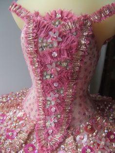 Close up of our Sugarplum Fairy miniature. Vin's studio image.