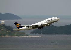 Boeing   747-430   Lufthansa   D-ABVC   Hong Kong   HKG   VHHH by Christian Junker   PHOTOGRAPHY, via Flickr