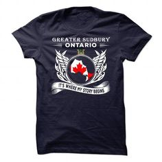 Greater Sudbury - Its where my story begins v^1^ - #mothers day gift #handmade gift. LIMITED AVAILABILITY => https://www.sunfrog.com/States/Greater-Sudbury--Its-where-my-story-begins-v1.html?68278