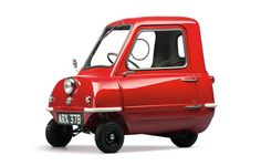 """Microcars are both cheap and fuel-efficient. They were developed in the impoverished Europe of the postwar period and attracted the interest of people who couldn't afford """"real"""" automobiles."""