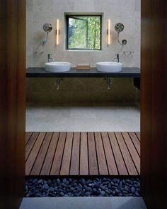 .beautiful bathroom Looks Asian inspired