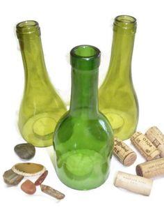 Wine Bottle Hurricane by FireAntDesign on Etsy, $20.00