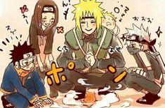 Team Minato and baby naruto Anime Naruto, Naruto Kakashi, Naruto Teams, Naruto Cute, Naruto Funny, Team Minato, Naruto Images, Naruto Pictures, Wallpapers Naruto